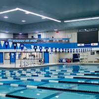 GVSU Pool Swimming Lanes